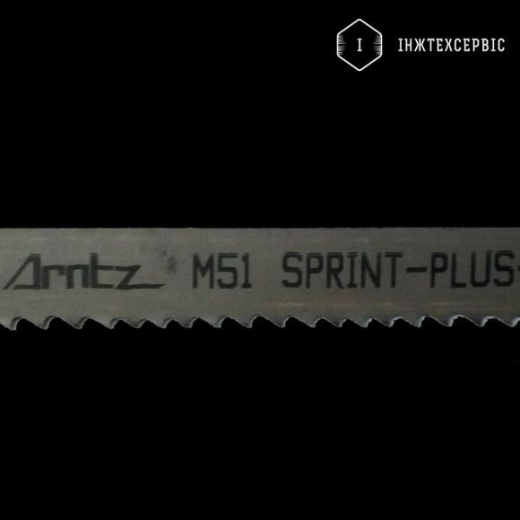 Стрічкова пила по металу ARNTZ M51-SPRINT - 27х0,9